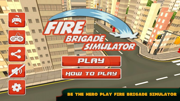 Fire Brigade Truck Simulator 2015 for Windows 8