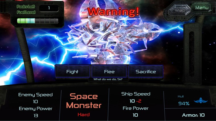Fight Space Monsters!