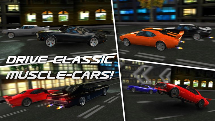 DRIVE CLASSIC MUSCLE-CARS!