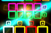 Vibrant neon interface will dazzle your eyes!