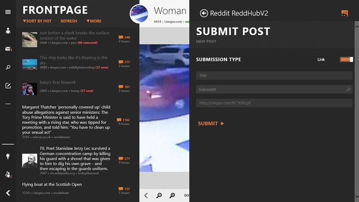 Ability to share-to ReddHub