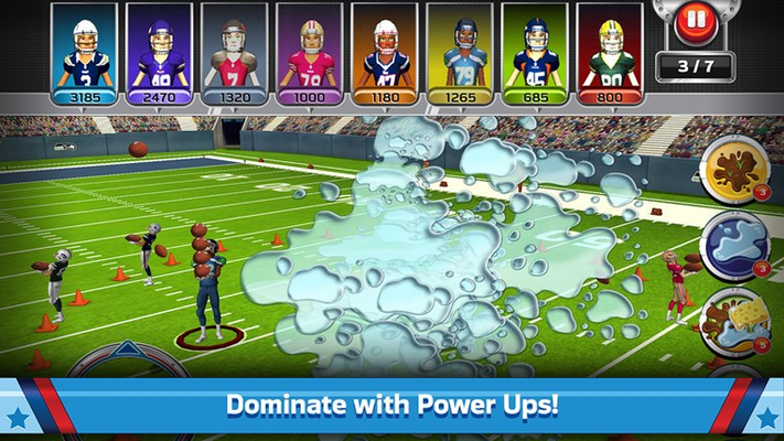 Dominate with powerups!