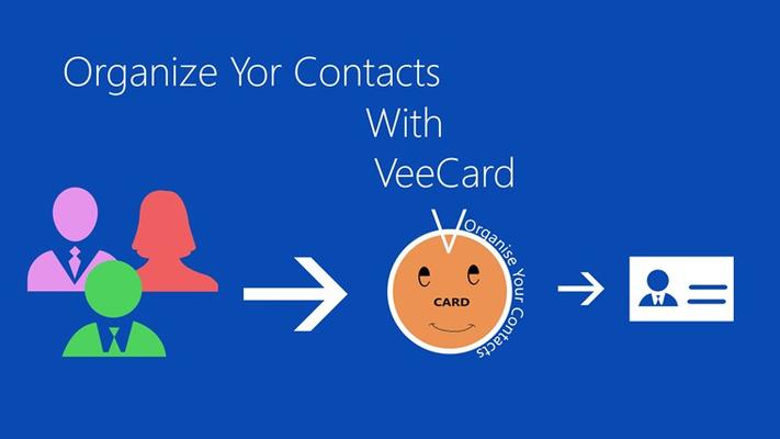 VeeCard Contacts Organizer