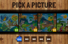 The puzzle selection screen - animals set