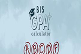 BIS GPA Calculator