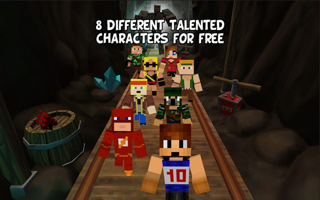 8 Different characters for free