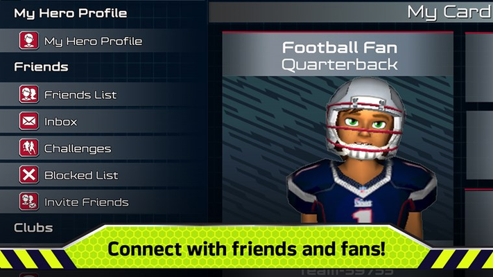 Connect with friends and fans