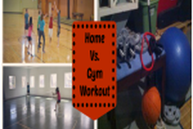 working out at home vs gym