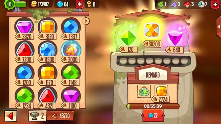 Collect precious gems!