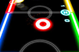 Glow Air Hockey'