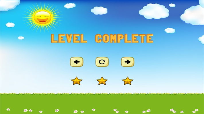 Level Complete Screen