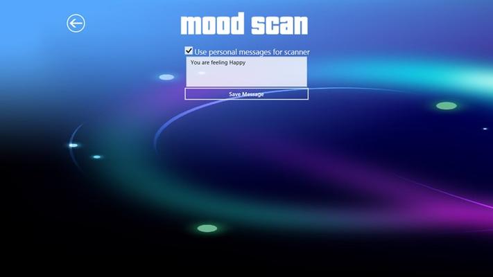 Mood Scan - Custom Text Entry