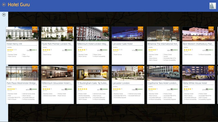 List of hotel shown by your search