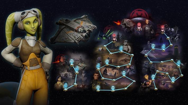 • Explore the Star Wars Rebels™ galaxy