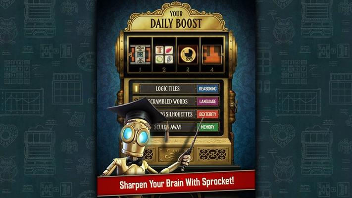 Sharpen Your Brain With Sprocket!