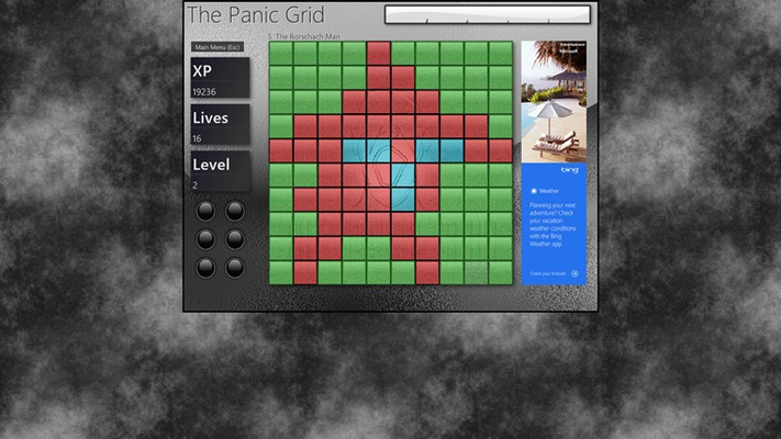Remove all tiles of the same color before the countdown hits zero!