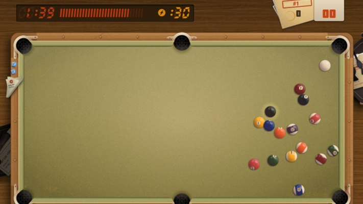 Beat the clock, sink as many balls as possible