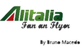Alitalia Fan and Flyer