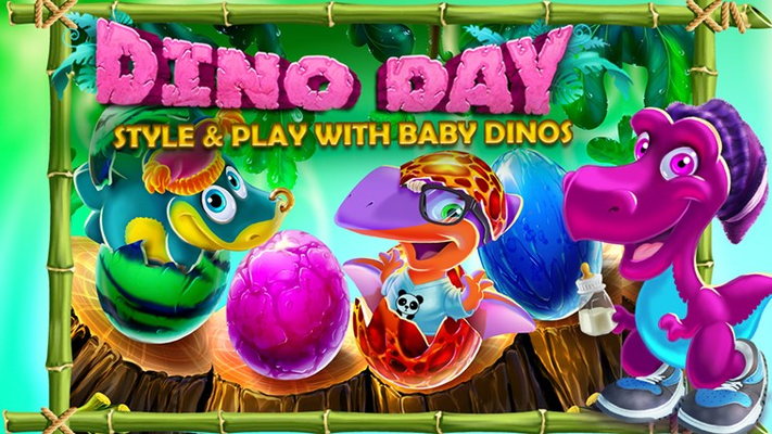 Play with baby dinos!