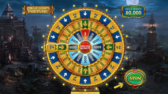 Spin the Wheel and get the biggest Jackpot ever!