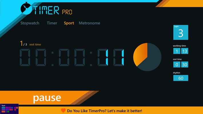 Abiliti ti set rest timer