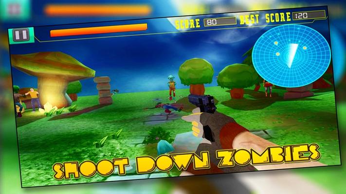 Shoot Down Zombie