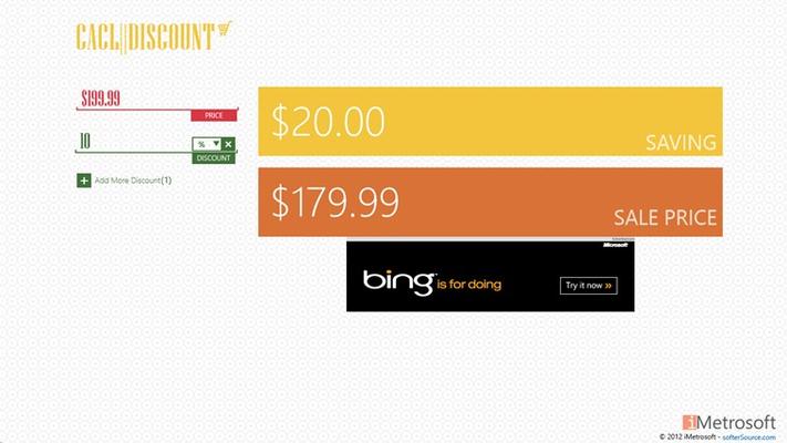 Single Discount