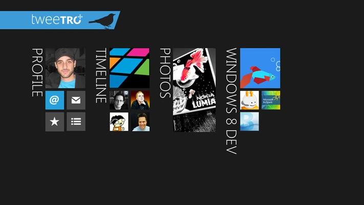 Tweetro+ for Windows 8