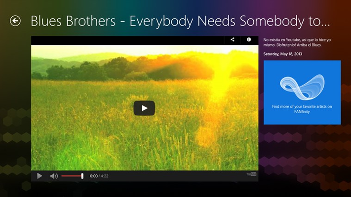 The Blues Brothers FANfinity for Windows 8
