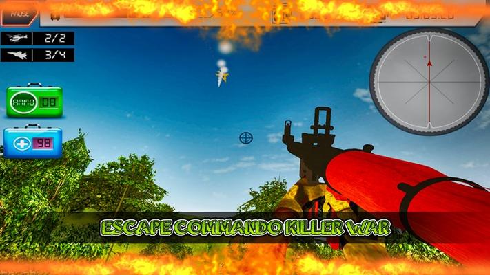 Escape Commando: Killer War