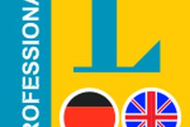 English-German Langenscheidt Professional Dictionary