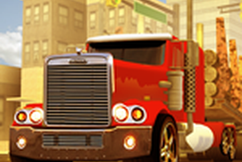 American Truck Cargo Delivery - Town Order Supply