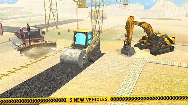 City Construction Heavy Roads