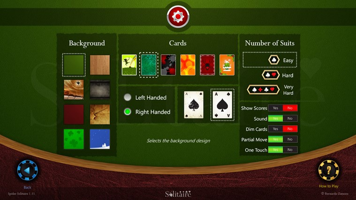 Spider Solitaire HD for Windows 8