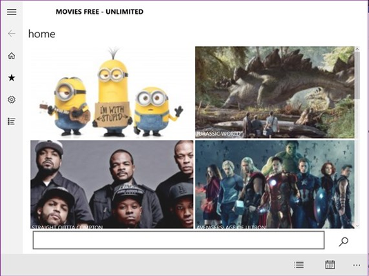 Movies Free - Unlimited for Windows 8