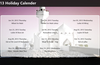 Overview of Islamic Holidays for this year