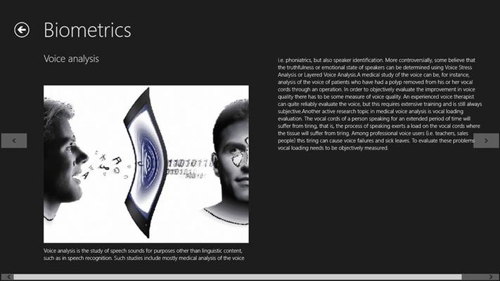 voice scan bio-metric
