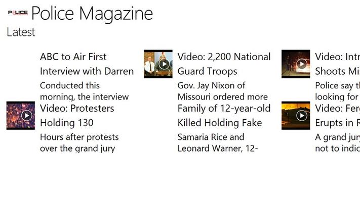 Latest section on Police Magazine