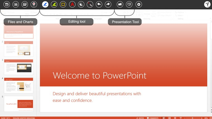 Annotate over PowerPoint