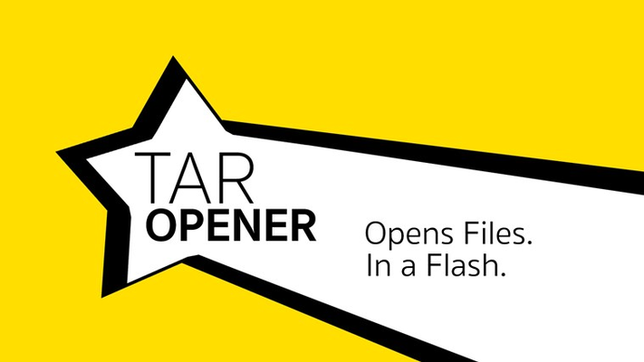 Opens Files in a Flash - sTar Opener