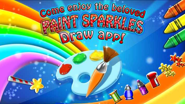 The Beloved Paint Sparkles App in Now Available on Windows 8!
