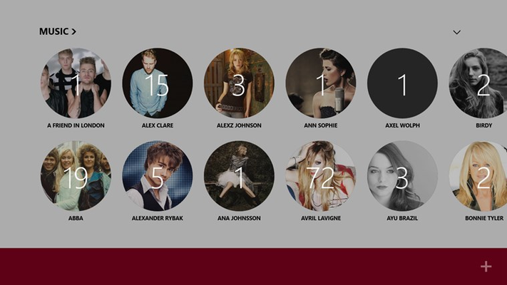 Audictive Music for Windows 8