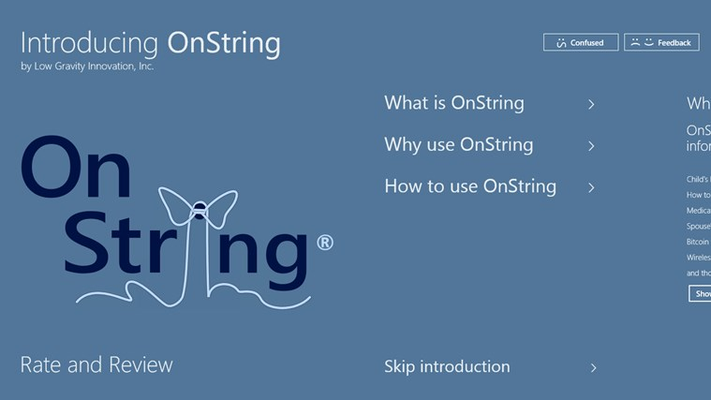 OnString for Windows 8
