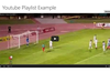View of single videos in full screen
