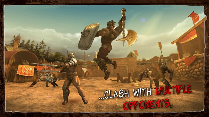 . . . Clash with multiple opponents,