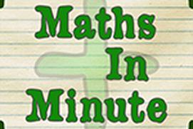 Maths in a minute