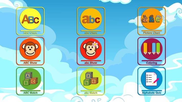 Learn ABC for Kids is fun educational list of activities