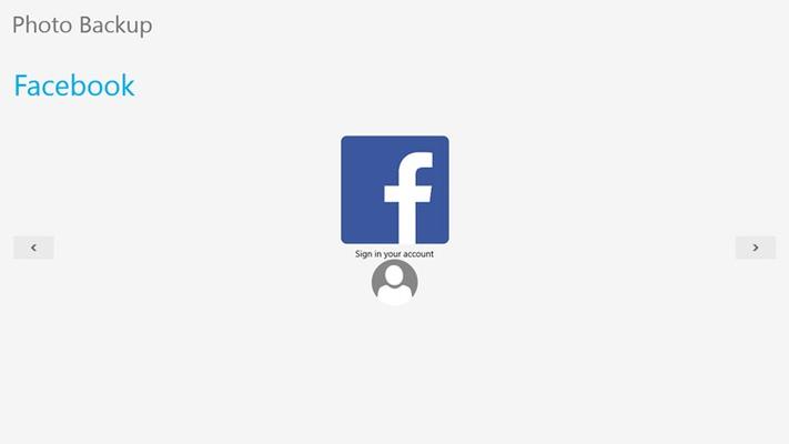 social login page