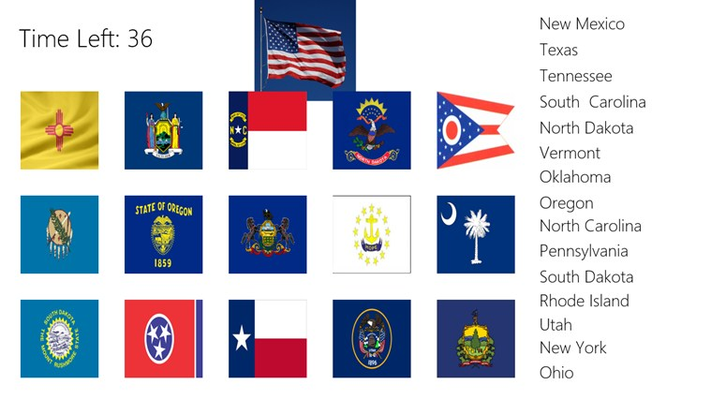 Chase Your State Flags!