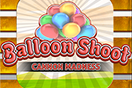 Balloon Shoot Cannon Madness
